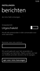 HTC Windows Phone 8X - SMS - Handmatig instellen - Stap 5
