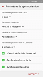 Samsung G925F Galaxy S6 Edge - E-mail - Configurer l