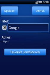 Sony Ericsson Xperia X8 - Internet - hoe te internetten - Stap 7