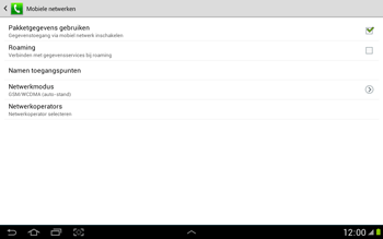 Samsung N8000 Galaxy Note 10-1 - Bellen - in het buitenland - Stap 9