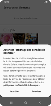 Samsung Galaxy S9 Android Pie - MMS - envoi d'images - Étape 16