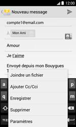 Bouygues Telecom Bs 403 - E-mails - Envoyer un e-mail - Étape 11