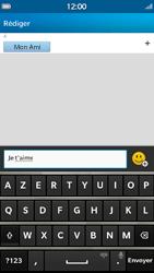 BlackBerry Z30 - Mms - Envoi d