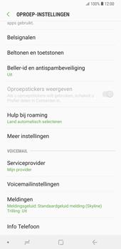 Samsung Galaxy Note9 - Voicemail - handmatig instellen - Stap 8