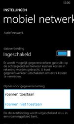 Nokia Lumia 635 - Internet - Internet gebruiken in het buitenland - Stap 8