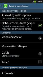 Samsung G386F Galaxy Core LTE - Voicemail - handmatig instellen - Stap 7
