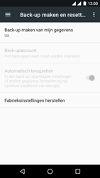 Android One GM5 - Toestel reset - terugzetten naar fabrieksinstellingen - Stap 5