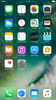 Apple Apple iPhone 6s Plus iOS 10 - iOS features - Verwijder en herstel standaard iOS-apps - Stap 1