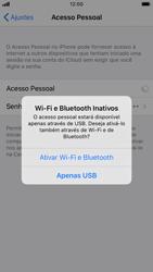 Apple iPhone 8 - iOS 13 - Wi-Fi - Como usar seu aparelho como um roteador de rede wi-fi - Etapa 7