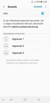 Samsung Galaxy S8 - Android Oreo (SM-G950F) - Bluetooth - Aanzetten - Stap 6