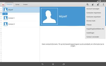 Sony Xperia Tablet Z2 4G (SGP521) - Contacten en data - Contacten overzetten via Bluetooth - Stap 6