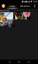 Sony Xpéria E1 Dual - Photos, vidéos, musique - Envoyer une photo via Bluetooth - Étape 4