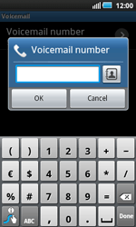 Samsung I5800 Galaxy Apollo - Voicemail - Manual configuration - Step 7