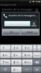 Sony Ericsson Xperia Arc - Messagerie vocale - configuration manuelle - Étape 8