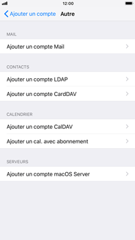 Apple iPhone 7 Plus iOS 11 - E-mail - Configuration manuelle - Étape 7