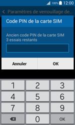 Samsung Galaxy Trend 2 Lite - Sécuriser votre mobile - Personnaliser le code PIN de votre carte SIM - Étape 7