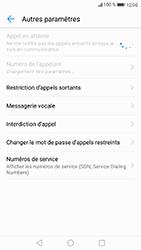 Huawei P8 Lite 2017 - Messagerie vocale - configuration manuelle - Étape 7