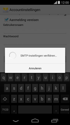 Motorola Moto G - E-mail - Account instellen (IMAP met SMTP-verificatie) - Stap 15