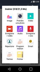 LG K4 - E-mails - Envoyer un e-mail - Étape 11