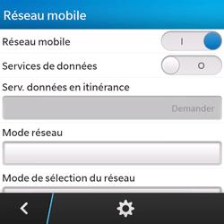 BlackBerry Q5 - Internet - Activer ou désactiver - Étape 7