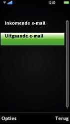 Sony Ericsson U1i Satio - E-mail - Handmatig instellen - Stap 22