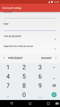 Motorola Nexus 6 - E-mail - Configuration manuelle - Étape 17