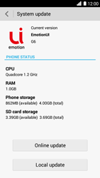 Huawei Ascend G6 - Device - Software update - Step 7