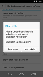 Huawei Ascend P7 4G (Model P7-L10) - Contacten en data - Contacten overzetten via Bluetooth - Stap 10