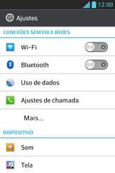 LG E612 Optimus L5 - Internet (APN) - Como configurar a internet do seu aparelho (APN Nextel) - Etapa 4