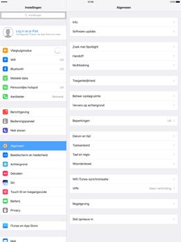 Apple iPad Pro 12.9 inch (Model A1671) - Instellingen aanpassen - Fabrieksinstellingen terugzetten - Stap 3