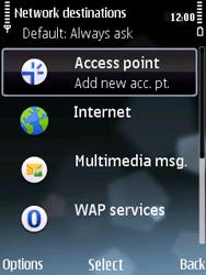 Nokia E75 - Internet - Manual configuration - Step 7