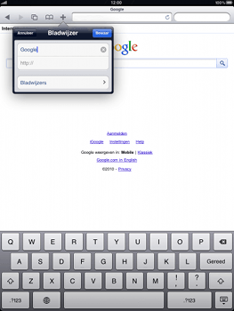 Apple iPad 2 - Internet - internetten - Stap 5