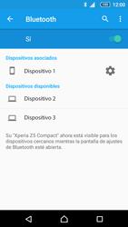 Sony Xperia Z5 Compact - Bluetooth - Conectar dispositivos a través de Bluetooth - Paso 8