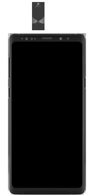 Samsung Galaxy Note 9 - Premiers pas - Insérer la carte SIM - Étape 2