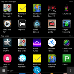 BlackBerry Passport - Applicaties - Downloaden - Stap 7