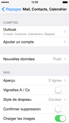 Apple iPhone 5 iOS 7 - E-mail - Configuration manuelle (outlook) - Étape 9
