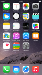 Apple iPhone 6 iOS 8 - Internet - Internet browsing - Step 1