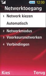 Samsung S7350 Ultra Slide - Buitenland - Bellen, sms en internet - Stap 6