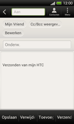 HTC C525u One SV - E-mail - E-mail versturen - Stap 9