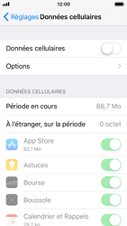Apple iPhone SE - iOS 11 - Internet - activer ou désactiver - Étape 5