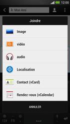 HTC One - MMS - envoi d'images - Étape 11