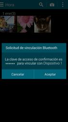 Samsung G900F Galaxy S5 - Bluetooth - Transferir archivos a través de Bluetooth - Paso 12