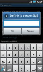 Samsung I5800 Galaxy Apollo - SMS - Configuration manuelle - Étape 5