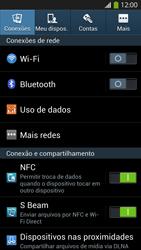 Samsung I9500 Galaxy S IV - Rede móvel - Como ativar e desativar o modo avião no seu aparelho - Etapa 4