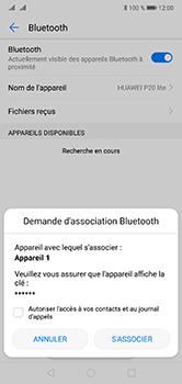 Huawei P20 Lite - Bluetooth - Jumeler avec un appareil - Étape 7