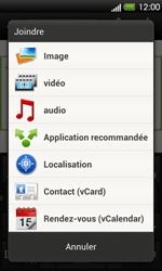 HTC T320e One V - MMS - Envoi d