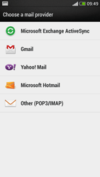 HTC Desire 601 - Email - Manual configuration - Step 5
