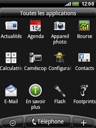 HTC A3333 Wildfire - E-mail - envoyer un e-mail - Étape 2