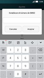 Huawei Y5 - Mensajería - Configurar el equipo para mensajes de texto - Paso 6