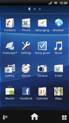 Sony Ericsson Xperia Ray - Email - Sending an email message - Step 3